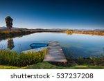 Little Natural Pond Inside A...