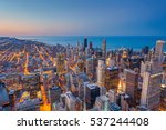 Chicago. Cityscape Image Of...