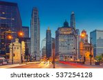 chicago. cityscape image of... | Shutterstock . vector #537254128