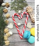 christmas background. christmas ... | Shutterstock . vector #537265576