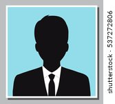 isolated young business man... | Shutterstock .eps vector #537272806