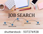 job search milestones concept | Shutterstock . vector #537276928