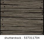 old gray rough horizontal... | Shutterstock .eps vector #537311704