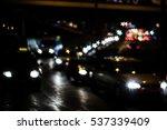 small blurred traffic lights... | Shutterstock . vector #537339409