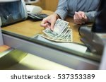 people  withdrawal  saving and... | Shutterstock . vector #537353389