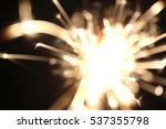 christmas sparkler  holiday ... | Shutterstock . vector #537355798