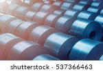 cold rolled steel coil at... | Shutterstock . vector #537366463