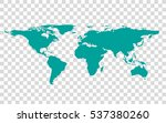 political world map illustration | Shutterstock .eps vector #537380260