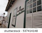 Small photo of GOIAS, GOIAS, BRAZIL - DECEMBER 14, 2016: House of Cora Coralina
