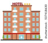 hotel  icon hotel  reservation  ... | Shutterstock .eps vector #537418630