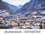 view of encamp. andorra  | Shutterstock . vector #537434764