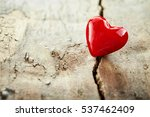 colorful red valentines heart... | Shutterstock . vector #537462409