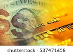 finance background with dollar... | Shutterstock . vector #537471658