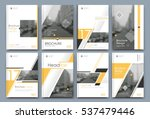 abstract binder layout. white... | Shutterstock .eps vector #537479446