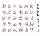 outline illustration of  vector ... | Shutterstock .eps vector #537491569