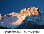snowy peaks  croda da campo | Shutterstock . vector #537491980