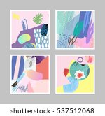collection of creative... | Shutterstock .eps vector #537512068