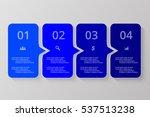 vector lines arrows infographic.... | Shutterstock .eps vector #537513238