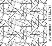 seamless linear triangle vector ... | Shutterstock .eps vector #537521764