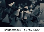abstract 3d rendering of... | Shutterstock . vector #537524320
