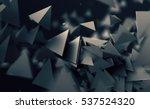 abstract 3d rendering of... | Shutterstock . vector #537524320