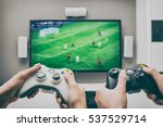 gaming game play tv fun gamer... | Shutterstock . vector #537529714