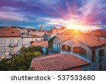 view on budva old town from the ...   Shutterstock . vector #537533680
