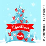 holiday sale card   Shutterstock .eps vector #537540844