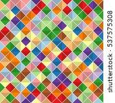 random rectangles. vector... | Shutterstock .eps vector #537575308