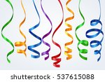 element of colorful ribbon for... | Shutterstock .eps vector #537615088