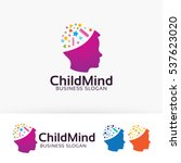 child mind  people  children ... | Shutterstock .eps vector #537623020