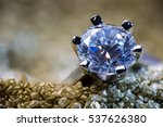 a precious ring with a polished ...   Shutterstock . vector #537626380