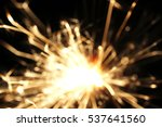 christmas sparkler  holiday ... | Shutterstock . vector #537641560