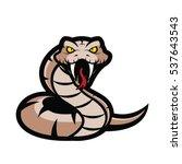 viper snake mascot | Shutterstock .eps vector #537643543
