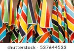Colorful Beach Towels Hanging...