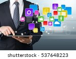 market. | Shutterstock . vector #537648223