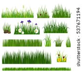 grass vector illustration. | Shutterstock .eps vector #537671194