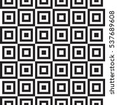 geometric squares seamless... | Shutterstock .eps vector #537689608