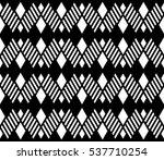 black and white color argyle... | Shutterstock .eps vector #537710254