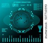 atomic reactor futuristic...