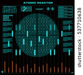 atomic reactor futuristic...