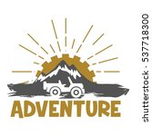 adventure logo | Shutterstock .eps vector #537718300