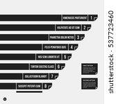 monochrome vector chart... | Shutterstock .eps vector #537723460