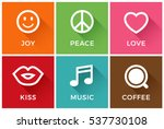 Joy  Peace  Love  Kiss  Music...