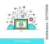 isolated vector icon stye...   Shutterstock .eps vector #537753448