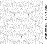 abstract seamless pattern with... | Shutterstock .eps vector #537758080