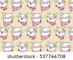vector illustration pattern... | Shutterstock .eps vector #537766708