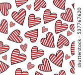 abstract seamless valentine's... | Shutterstock .eps vector #537767620