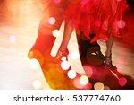 dancing. | Shutterstock . vector #537774760