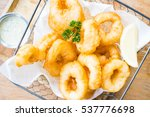 Crispy Calamari Rings With...